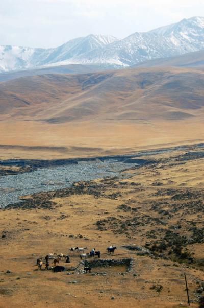 2013年中国新疆放浪記099・南疆列車で天山山脈を越えて行こう!