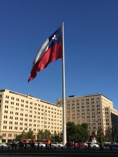 【世界一周】4-3.変化に富んだチリ ③久々の都会 サンチアゴに到着