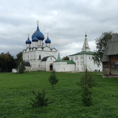 おばさんの一人旅、ロシアの田舎町と言われるスーズダリ