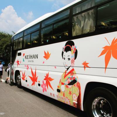 こんな暑い夏に関西方面の世界遺産を巡る旅☆4日目・定期観光バスで行く京都市内観光☆