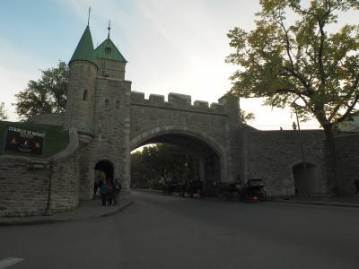 カナダ旅その2 バンクーバー→ケベックシティ 城壁に囲まれた街へ!