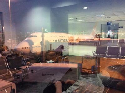 Qantasで行くぜ!クライストチャーチ→シドニー→東京 part2