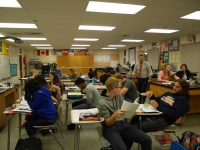 カナダ・アルバータ州1週間のホームステイ3 カナダの学校