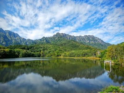 旨い蕎麦と赤観を楽しむ旅 1日目 戸隠で蕎麦を食べ鏡池と苗名滝を見て赤観へ