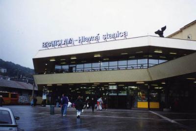 ブラチスラバ駅@ブラチスラバ/スロバキア