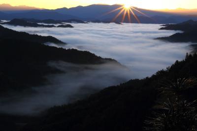 旅するイルカ♪ 奈良県 野迫川 雲海撮影へ