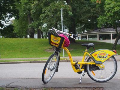 2度目のフィンランドはヘルシンキで暮らすように旅しよう ♪     その4レンタサイクルで街の中を走ってみよう!