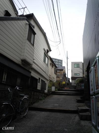 神楽坂の裏道
