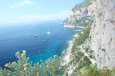 シチリア島と南イタリアをめぐる旅⑩ カプリ島、ソレントからアマルフィへ
