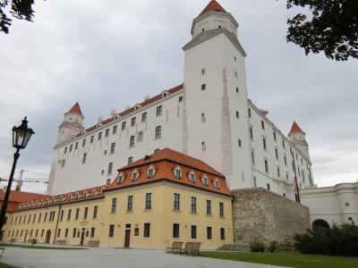 美しのドナウと中欧4カ国の旅 8日間 5 ( 旅行3日目 ブラチスラヴァ城に入場観光しました。 ② )