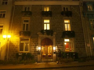 カナダ旅番外編その1 ケベックのホテル『マノワール ド トゥイユ』