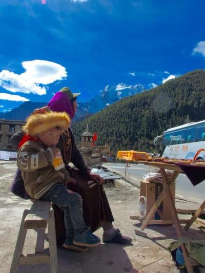 東チベットの男二人旅