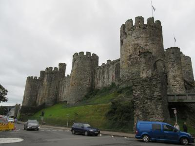 ウェールズ コンウィ城(世界遺産)への旅