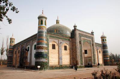 2013年中国新疆放浪記105・喀什散策02~阿巴克霍加麻扎(香妃墓)へ