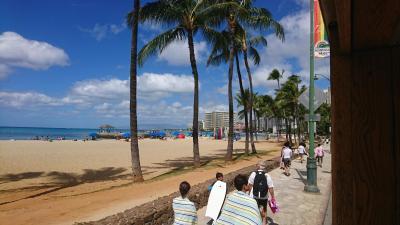 3回目のハワイ旅行1日目その1