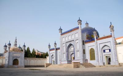 2013年中国新疆放浪記106・喀什散策03~玉素甫・哈斯・哈吉甫墓へ