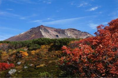 一番早い紅葉を見に北海道へ  3日目前半 絶景紅葉の旭岳カムイミンタラ