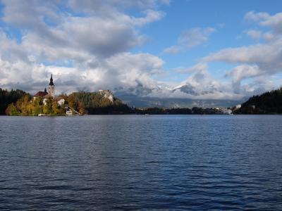 ユーラシア大陸横断【陸路】95日目 スロベニア ブレッド湖