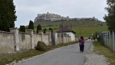 ハンガリー・ウクライナ・スロバキアの旅7 ~天空のスピシュ城へ~