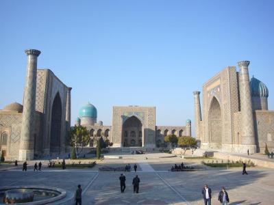 ウズベキスタン10日間の旅(1) サマルカンド