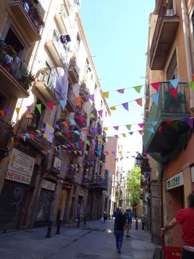 バルセロナ ひとり旅【3】旧市街歩き