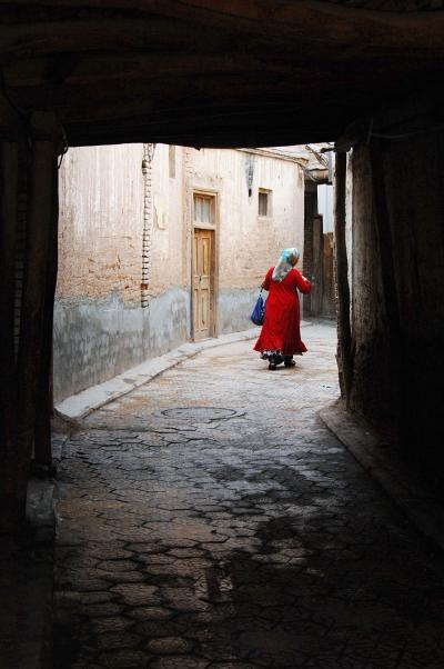 2013年中国新疆放浪記108・喀什散策05~保存集落・高台民居~晩餐