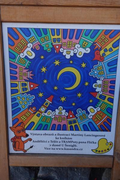 ☆チェコの美しい秋を歩こう!☆ 2016年10月 テルチ&ホラショヴィツェ&チェスケー・ブディヨヴィツェ&プラハ街歩き 4 (絵本の世界 テルチ②)