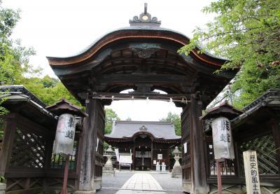 東横イン京都琵琶湖大津に宿泊して「卯年生まれの守り神」三尾神社参拝