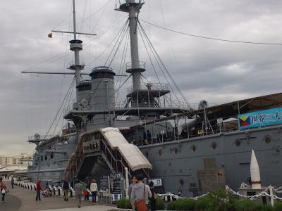 観音埼灯台と横須賀軍港めぐり