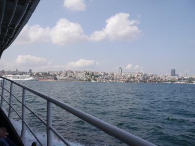 飛行機代約11万円(+JAL25,000マイル)世界一周の旅12日目その1 イスタンブール散策 欧亜大陸連絡・海底地下鉄道(マルマライ)&船でボスポラス海峡横断
