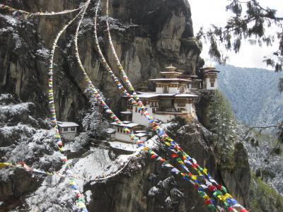 思い立ってヒマラヤの小国ブータン、2014年3月(タクツァン僧院)