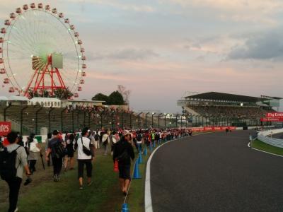 F1日本グランプリ鈴鹿サーキット2016