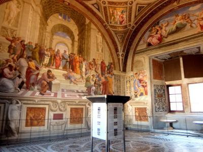 2016年秋 イタリア旅行 誰もいないバチカン美術館