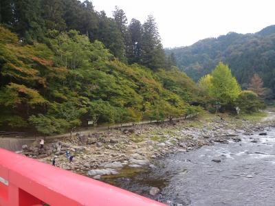 香嵐渓の紅葉 2016