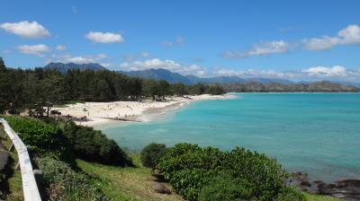 16年春節~オアフ島の旅◎07 カイルアその2~カイルア・ビーチとラニカイ・ビーチ