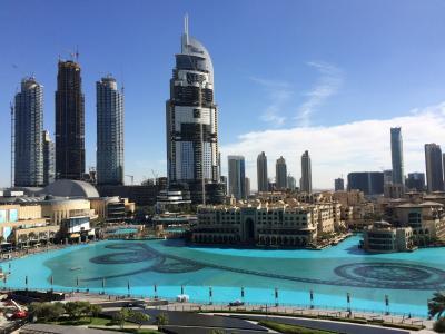 女子旅ドバイ♪(4)~アルマーニホテルドバイ・Armani Hotel Dubai~アルマーニ エグゼクティブ スイーツ(Armani Executive Sutie)