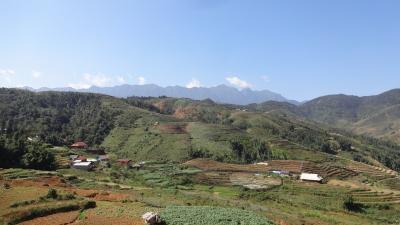 山岳地方サパに挑戦 その5 最初のトレッキング・タフィン村に向けて出発