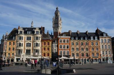 異国情緒漂う北フランスへの旅 黄葉のリール旧市街とルーベの美しき博物館La Piscine