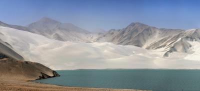 2013年中国新疆放浪記110・喀什散策06-2~喀拉庫勒湖へ・恰克拉克湖白い砂編