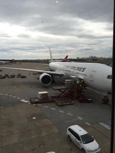 新婚旅行以来◯◯年ぶりのオーストラリアへ☆JAL SS7ビジネスクラスで帰国