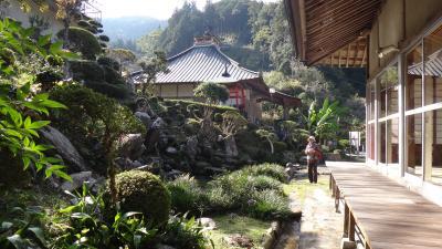 徳島県つるぎ町 多聞寺の庭と護摩祈祷