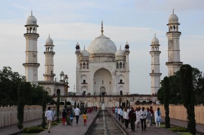 夏のインドの旅7 アウランガーバード ビービー・カ・マクバラー