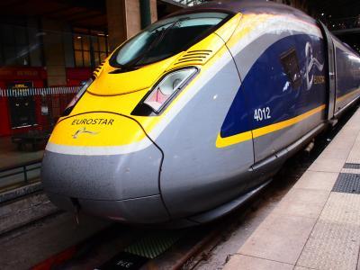 2016秋 Paris&London -3- パリ北駅からドーバー海峡を渡る。ユーロスター1等でロンドンへ!