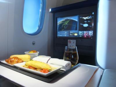 ANAビジネスクラス搭乗記(NH879便:東京(羽田)→シドニー)