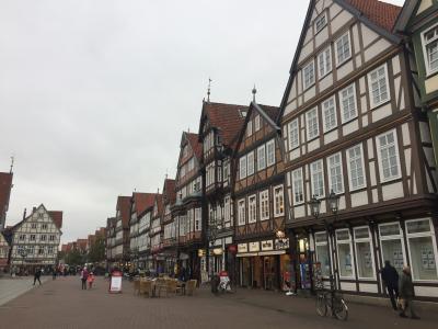 オランダ・ドイツへ10日間の旅【4】メルヘン街道の街ツェレを散策
