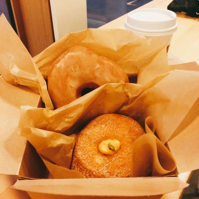 サンフランシスコと初めてのポートランド10/24~25⑥ブルースタードーナッツを食べてポートランドからデルタ航空コンフォートプラスで成田空港へ帰国