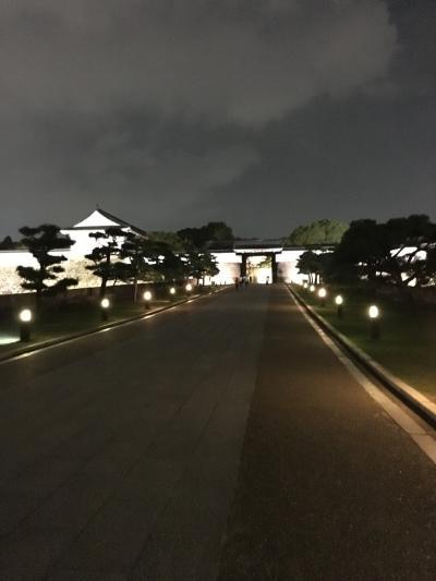 よるの大阪城