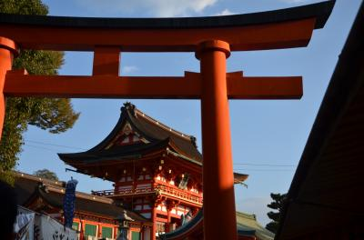 紅葉直前の京都に行って来ました。(伏見稲荷編)