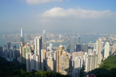 20161104-2 香港 腹ごなしにヴィクトリアピークに登ってみたり