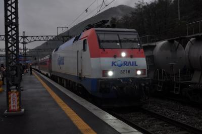 2016年11月エアソウルで行く韓国鉄道旅行4(太白線・中央線でソウル清涼里へ)